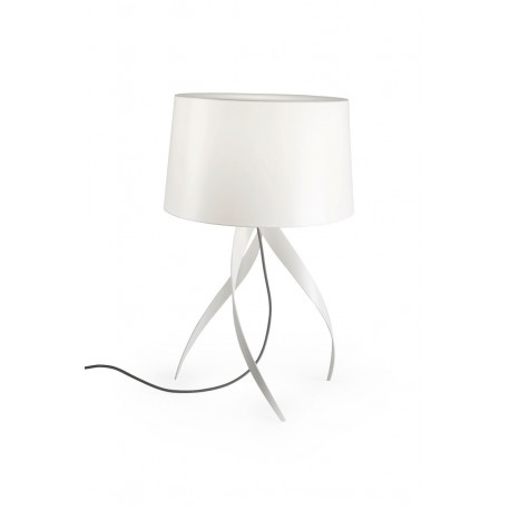 Grok Medusa White Table Lamp