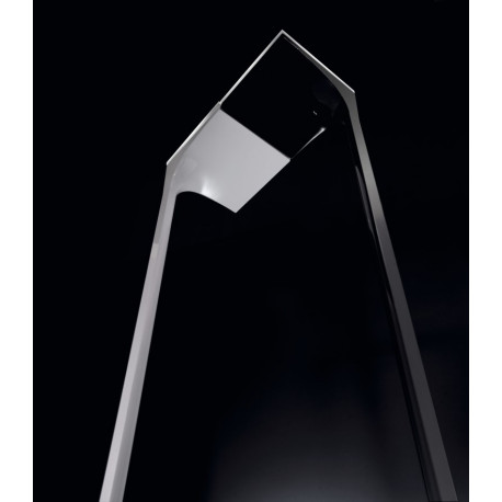 Grok Arc Black Floor Lamp