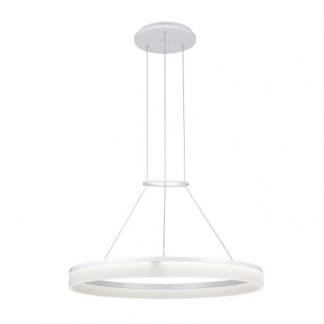 Grok Integrated LED 1 Light Dimmable Medium Ceiling Pendant White