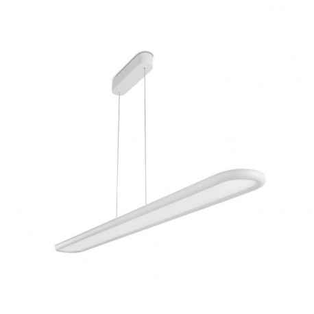 Grok Net LED 1 Light Dimmable Ceiling Pendant Bar White