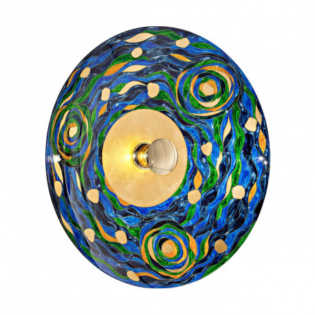 Kolarz Luna 1 Light Wall Light