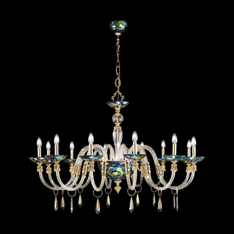 Kolarz Condulmer 12 Lights Chandelier