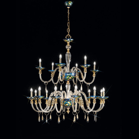 Kolarz Condulmer 18 Lights Chandelier