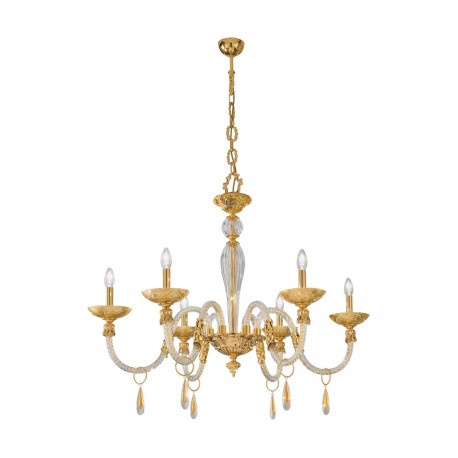 Kolarz Condulmer 2 6 Lights Chandelier