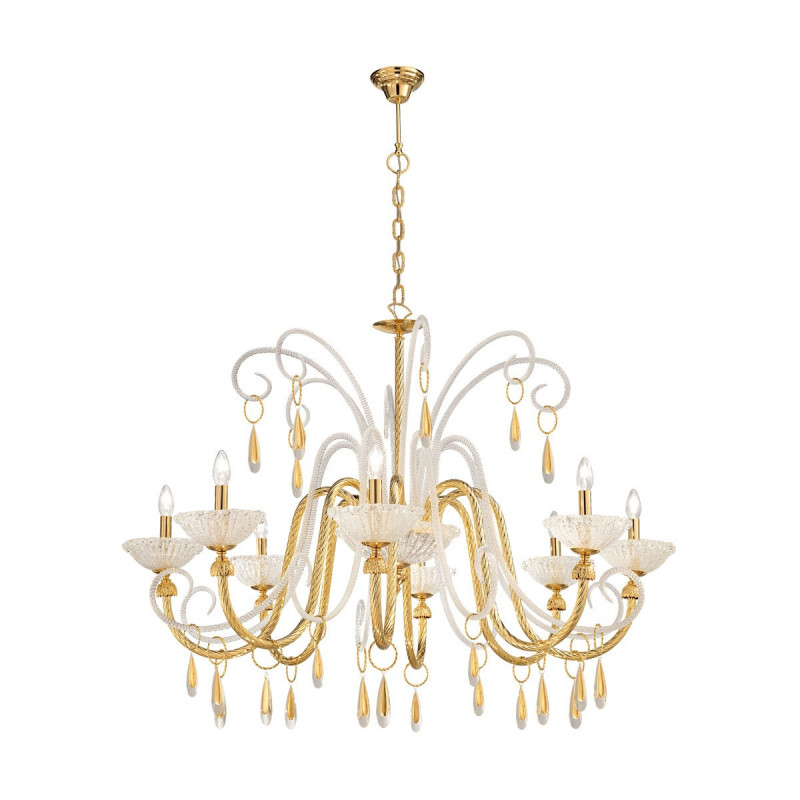 Kolarz Braida 8 Lights Chandelier