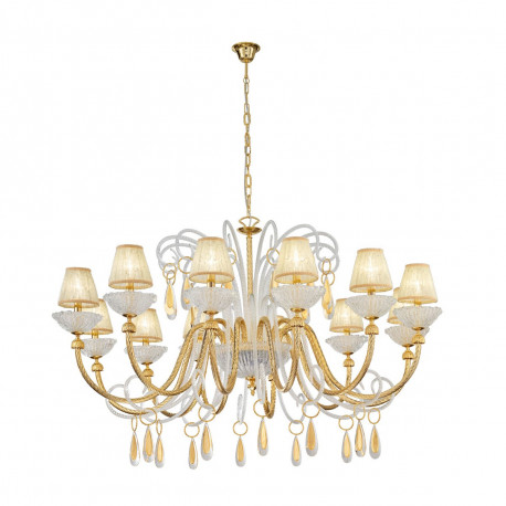 Kolarz Braida 12 Lights Chandelier