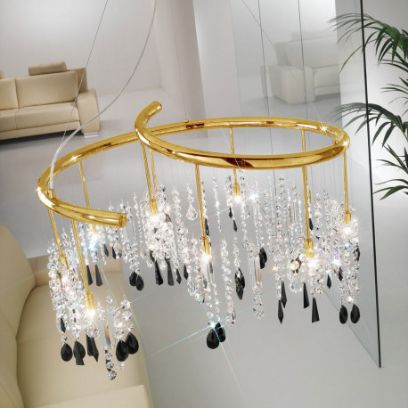 Kolarz Dragon 10 Lights Chandelier