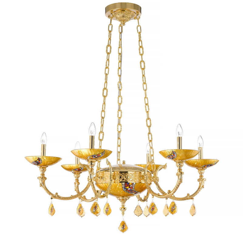 Kolarz Ducale 6 Lights Chandelier