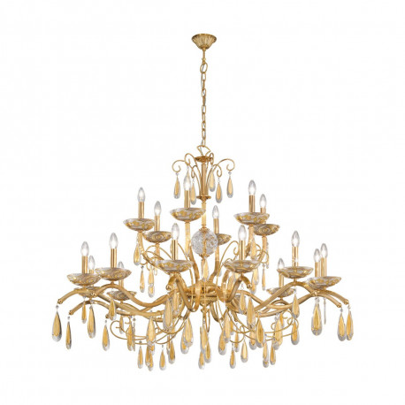 Kolarz Carmen 3 18 Lights Chandelier